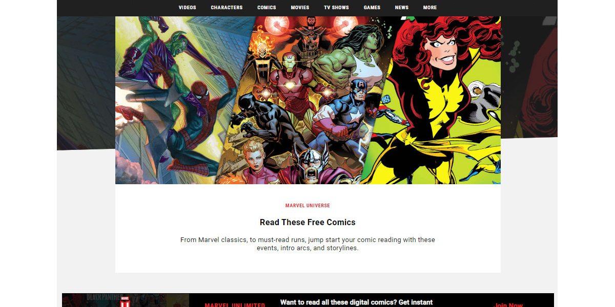 Confinement - Des comics Marvel gratuits
