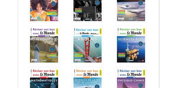 Confinement Révisez le BAC 2020 avec les hors-série gratuits Le Monde