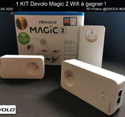 1 KIT Devolo Magic 2 Wifi à gagner