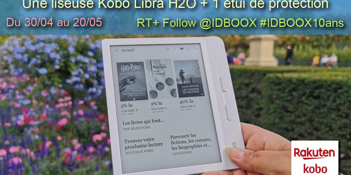 jeu concours kobo libra H2O à gagner ebook