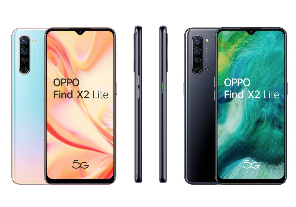 Oppo Find X2 Lite, le smartphone 5G abordable d'Oppo