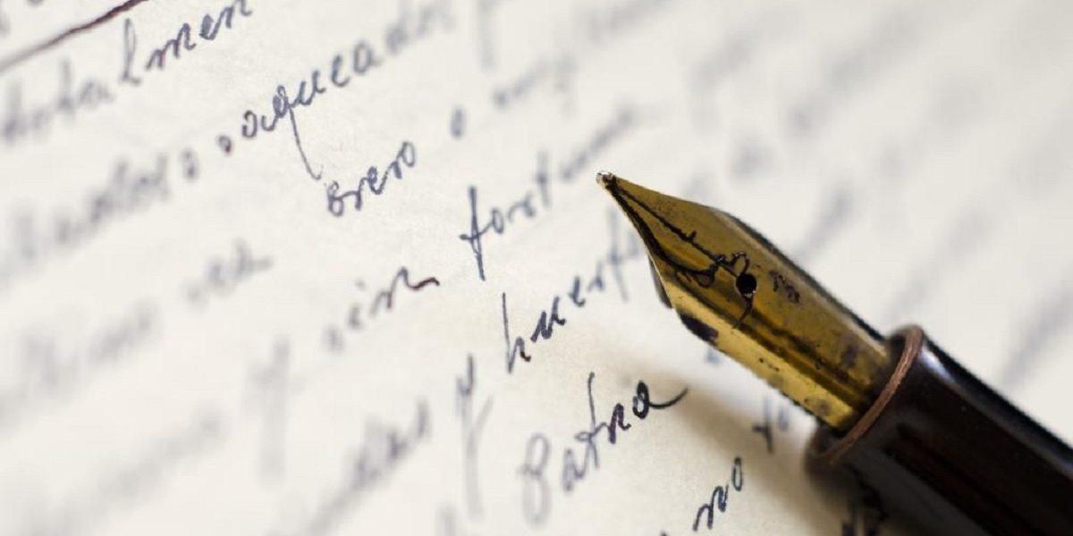 ecriture manuscrite et français