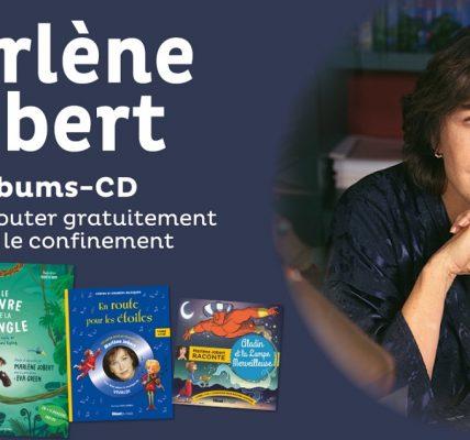 livres audio gratuits lus par marlene jobert confinement