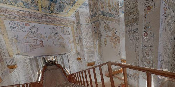 visite virtuelle pharaons egypte tombeau confinement