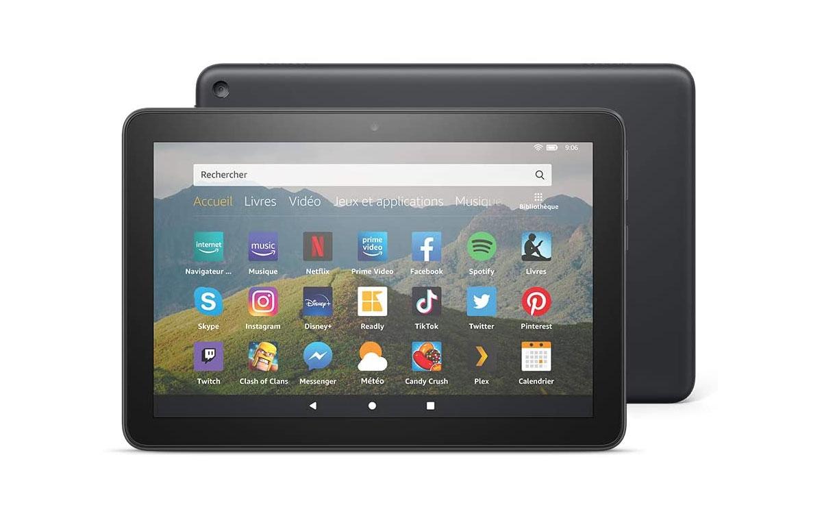 Amazon Fire HD 8 - La nouvelle tablette disponible France à moins de 100€