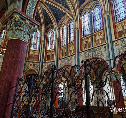 Visite virtuelle de la restauration des peintures de l'église Saint-Germain-des-Prés