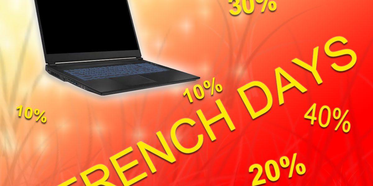 French Days 2020 - bons plans sur les PC portables gamers