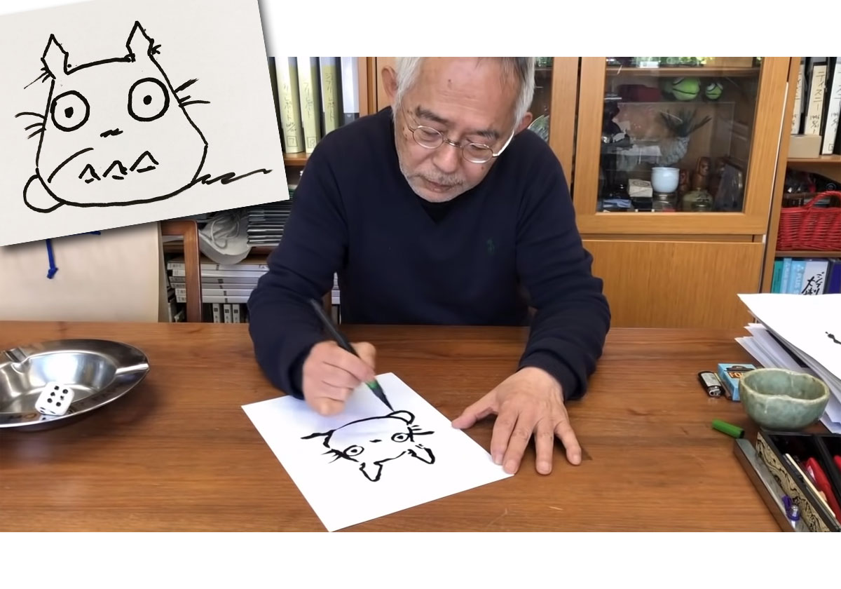 Studio Ghibli - Comment dessiner Totoro