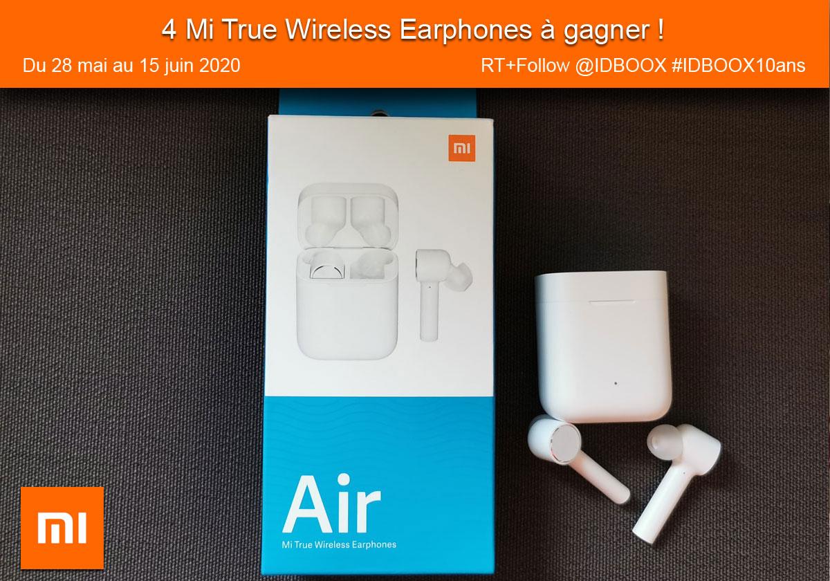 Des écouteurs Mi True Wireless à gagner