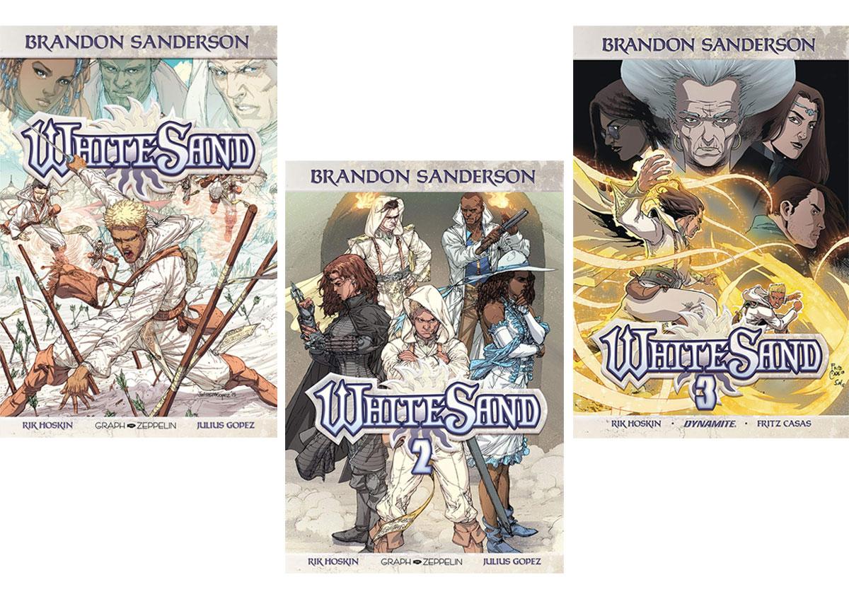 Les BD à lire ce week-end - White Sand la trilogie
