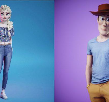Disney - Les héros de la pop culture mettent un pied dans le monde réel