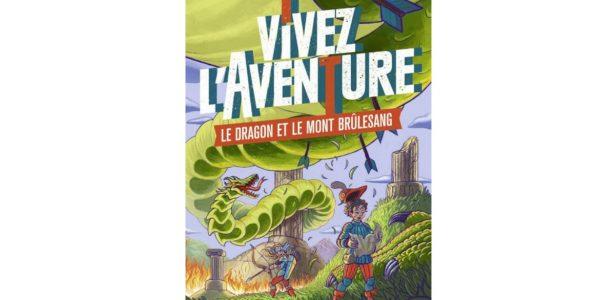 Le dragon et le Mont Brulesang un livre dont vous etes le heros