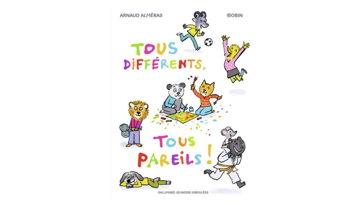Livre jeunesse tous differents Gallimard