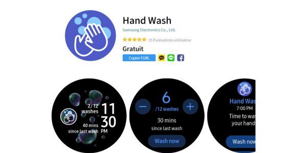 Covid-19 - Une appli pour se laver les mains et respecter ce geste barrière