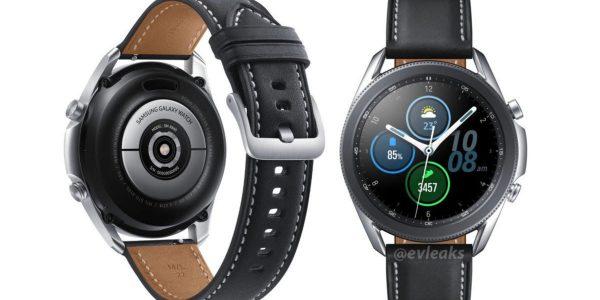 Samsung Galaxy Watch 3 - Les premiers visuels presse