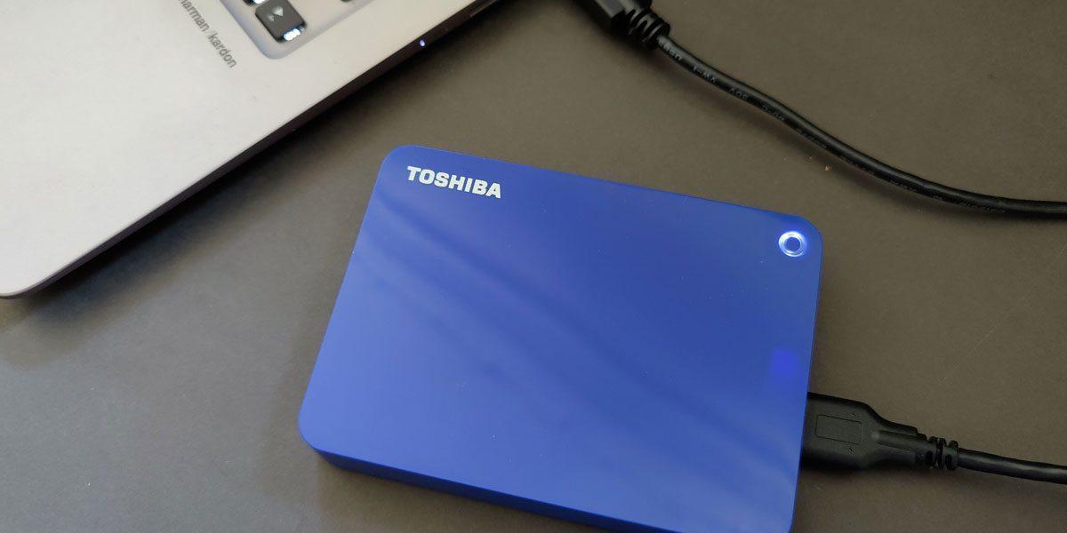 Toshiba Canvio Advance 4To – Test du disque dur externe