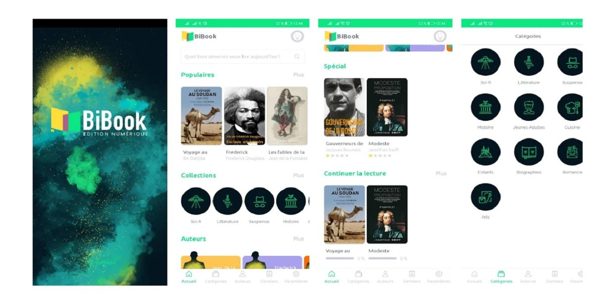bibook appli lecture afrique ebooks