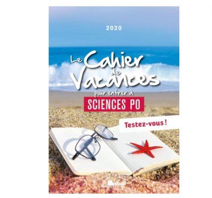 cahier de vacances etudiants sciences po