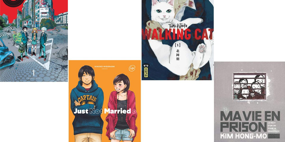 4 mangas originaux à lire et à savourer