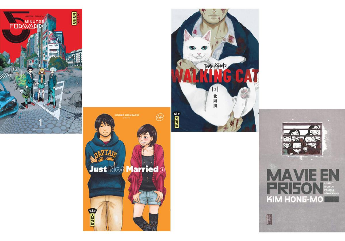 4 mangas originaux à lire et à découvrir