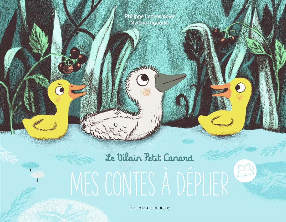 Livre enfants Le vilain petit canard Mes contes à déplier