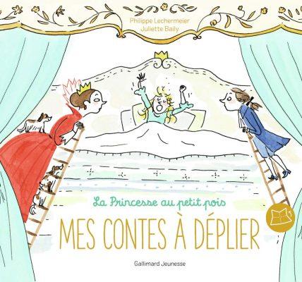 Livre enfants La princesse au petit pois Mes contes à déplier