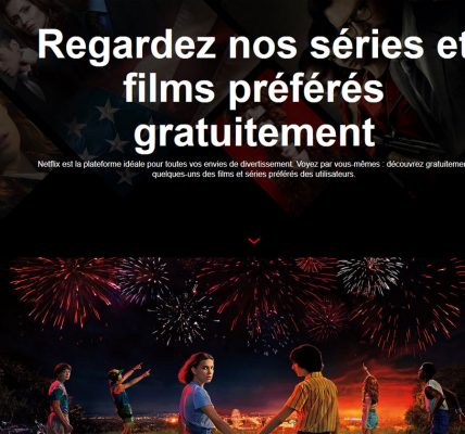 Comment regarderdes films Netflix gratuitement