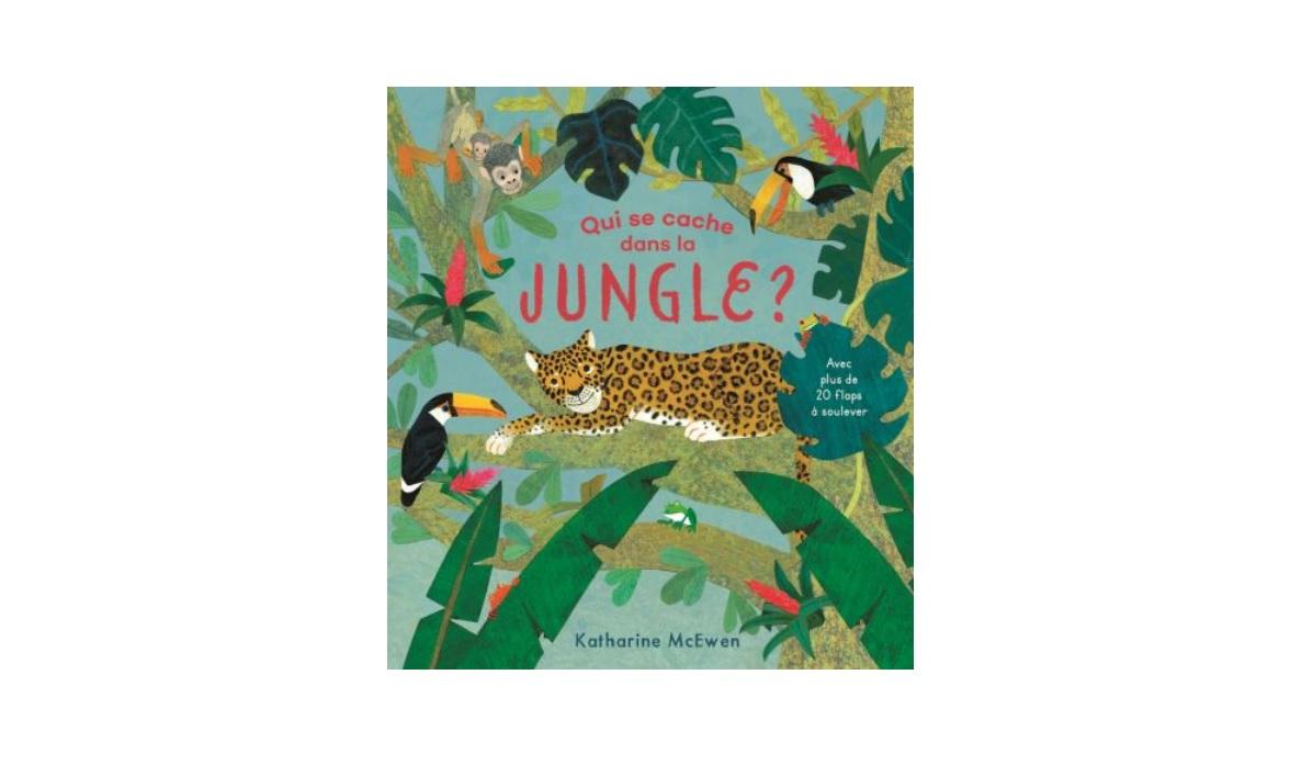 qui se cache dans la jungle gallimard livre