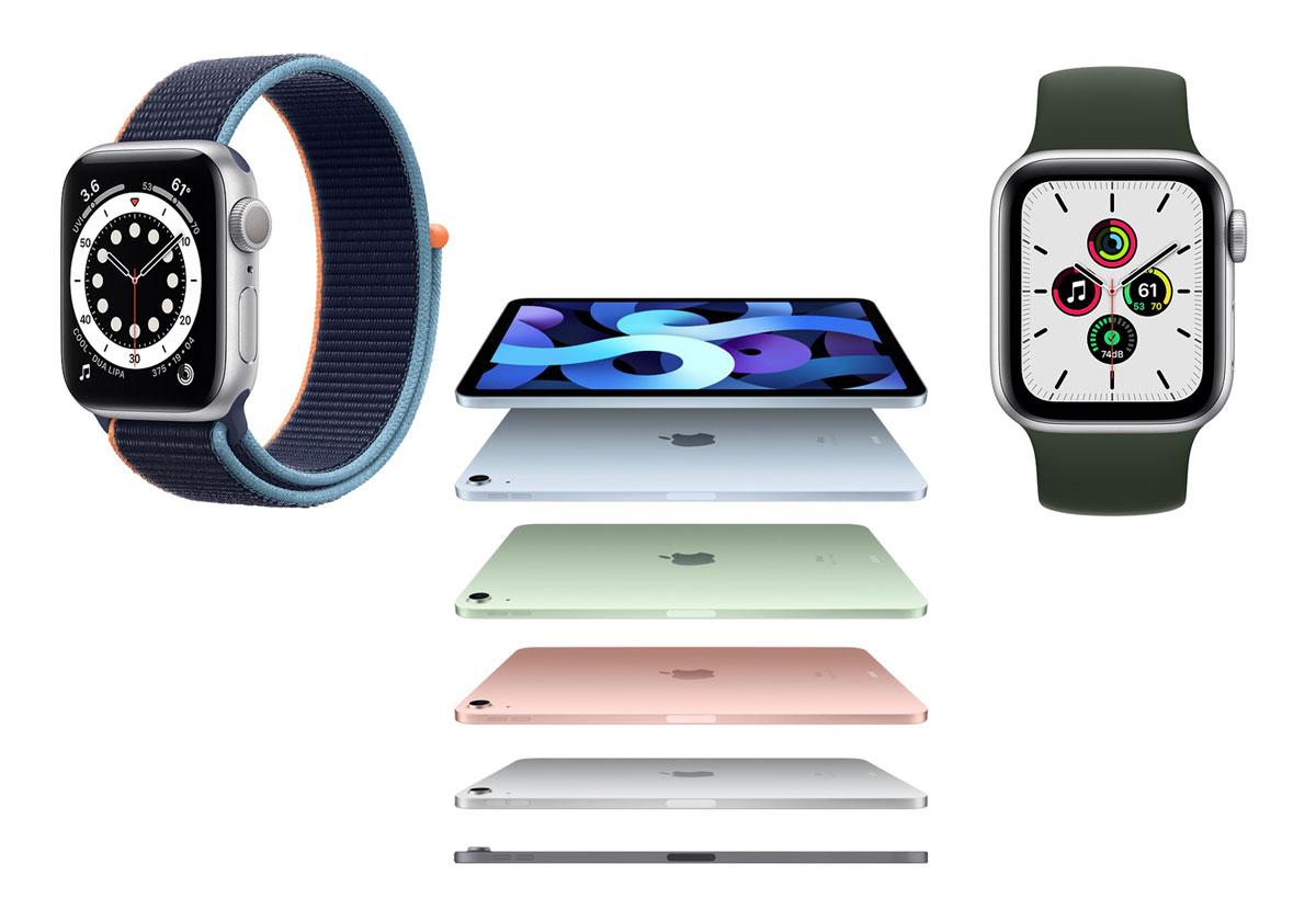 Apple Watch Series 6, iPad Air 2020, Watch SE - Tous les prix et toutes les nouveautés