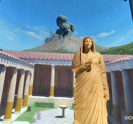 Expo Pompéi au Grand Palais- Visite en image