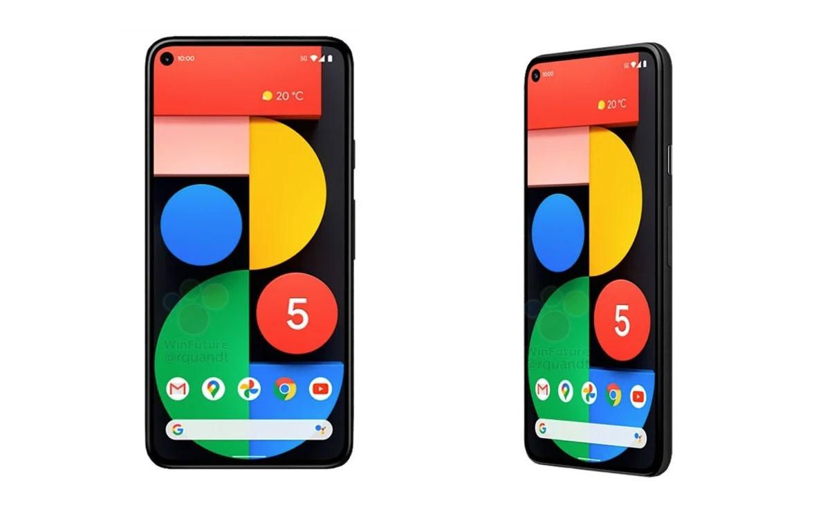 Google Pixel 5 le prix et la fiche technique