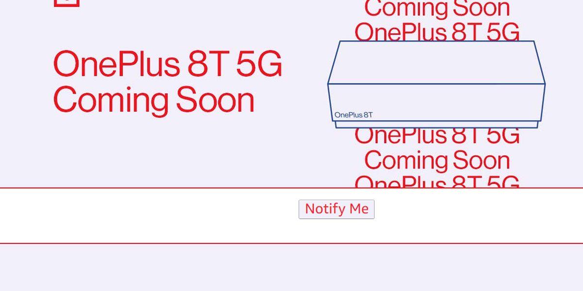 OnePlus 8T - Il n'y a pas de OnePlus 8T Pro