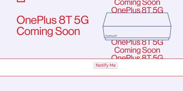 OnePlus 8T 5G la date de lancement se précise