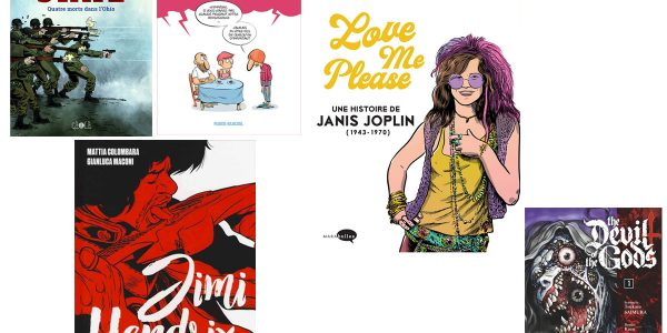 4 BD et 1 manga à lire absolument ce week-end
