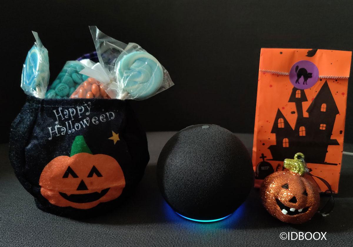 Amazon Echo Dot Quand Alexa fête Halloween