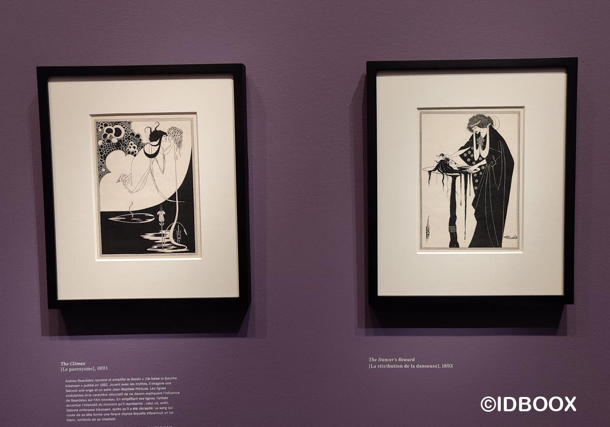 Expo Aubrey Beardsley au musée d'Orsay