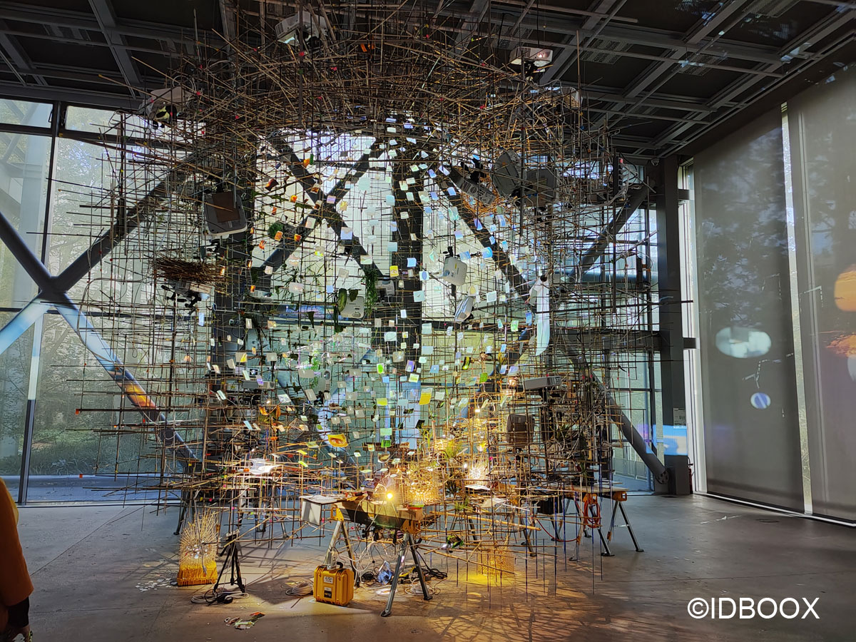 Expo Fondation Cartier Sarah Sze