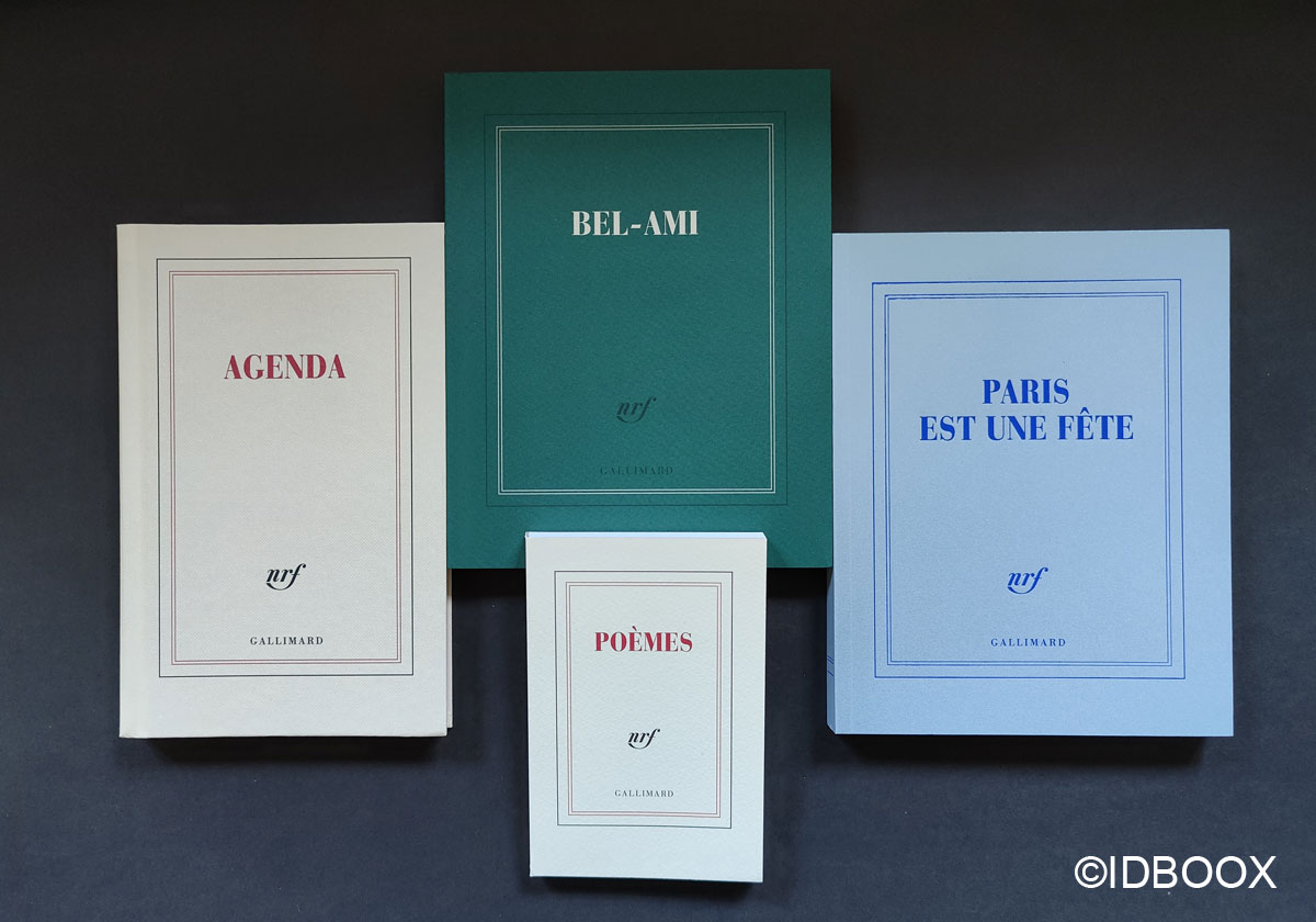 selection carnets gallimard