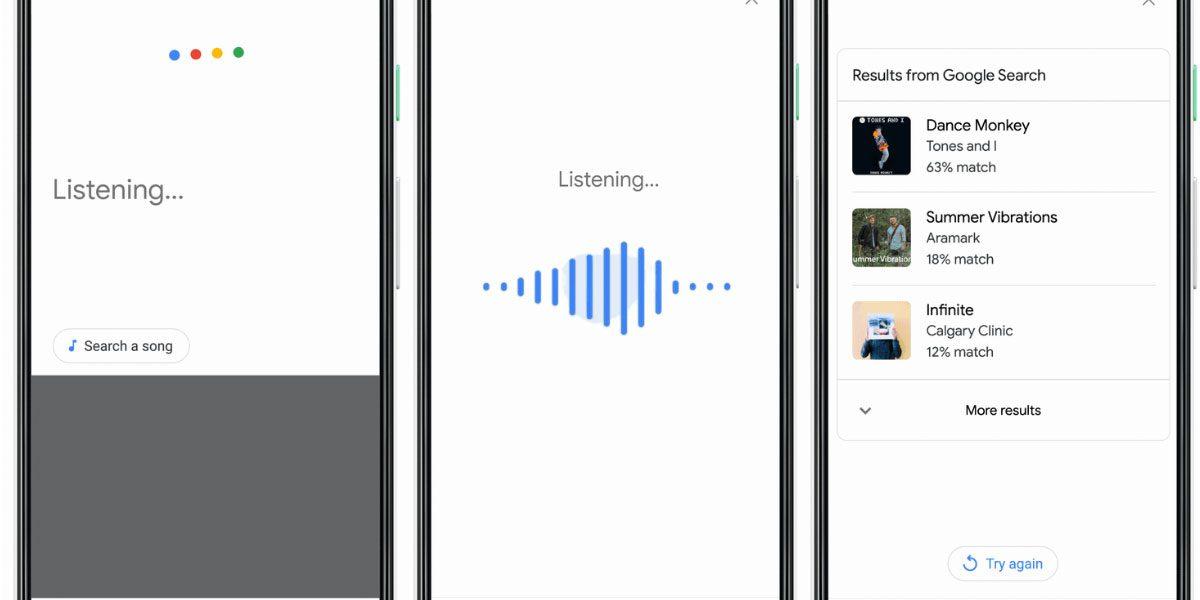Google peut reconnaître une chanson quand vous la fredonner