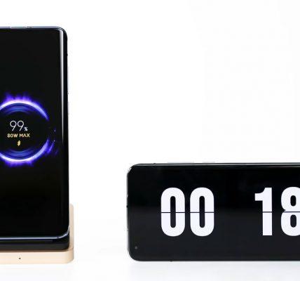 Xiaomi annonce la recharge sans fil 80W