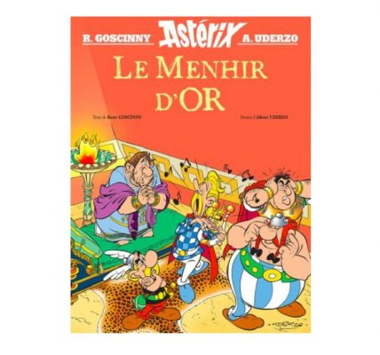 asterix le menhir d or