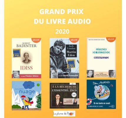 prix livre audio 2020