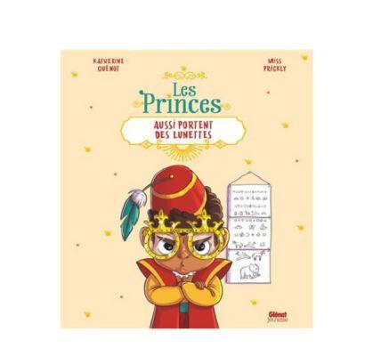 les princes aussi portent des lunettes livre enfant