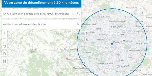 3 outils deconfinement 20 kilometres covid-19