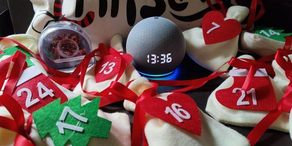 Amazon-Echo-Dot-Horloge-Noel- special Noel