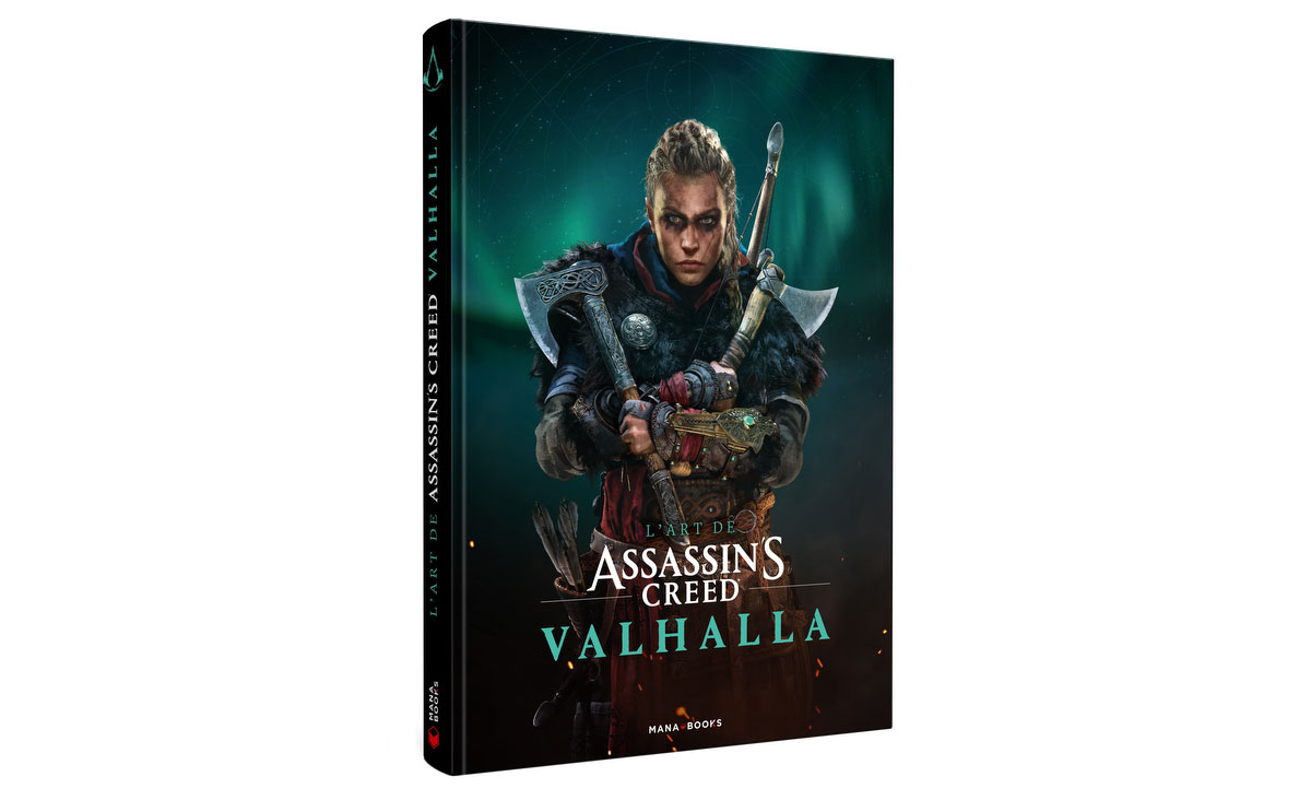 L'Art de Assassin's Creed Valhalla du jeu vidéo à l'artbook