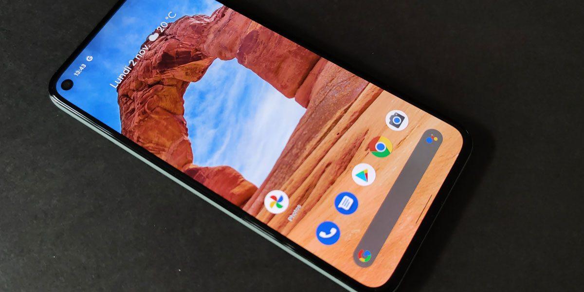 Google Pixel 5 test - Un smartphone qui assume sa différent