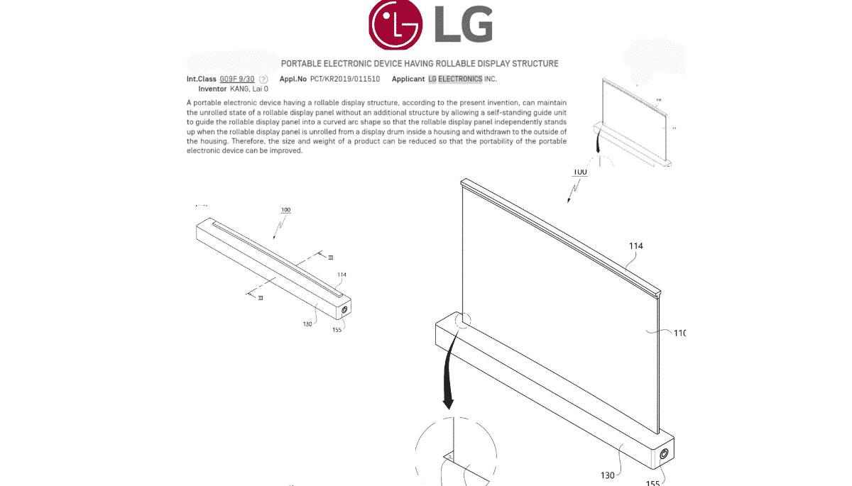 LG prépare un PC avec un écran enroulable