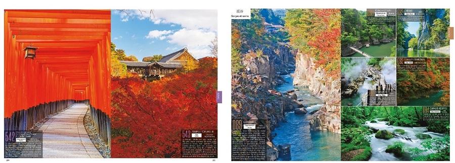 Les 1000 plus beaux paysages du Japon livre