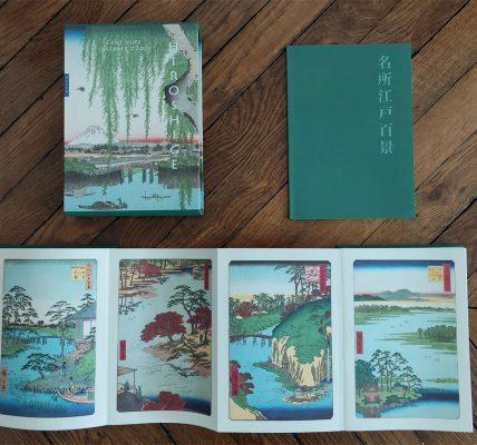 Hiroshige - Cent vues célèbres d'Edo japon livre